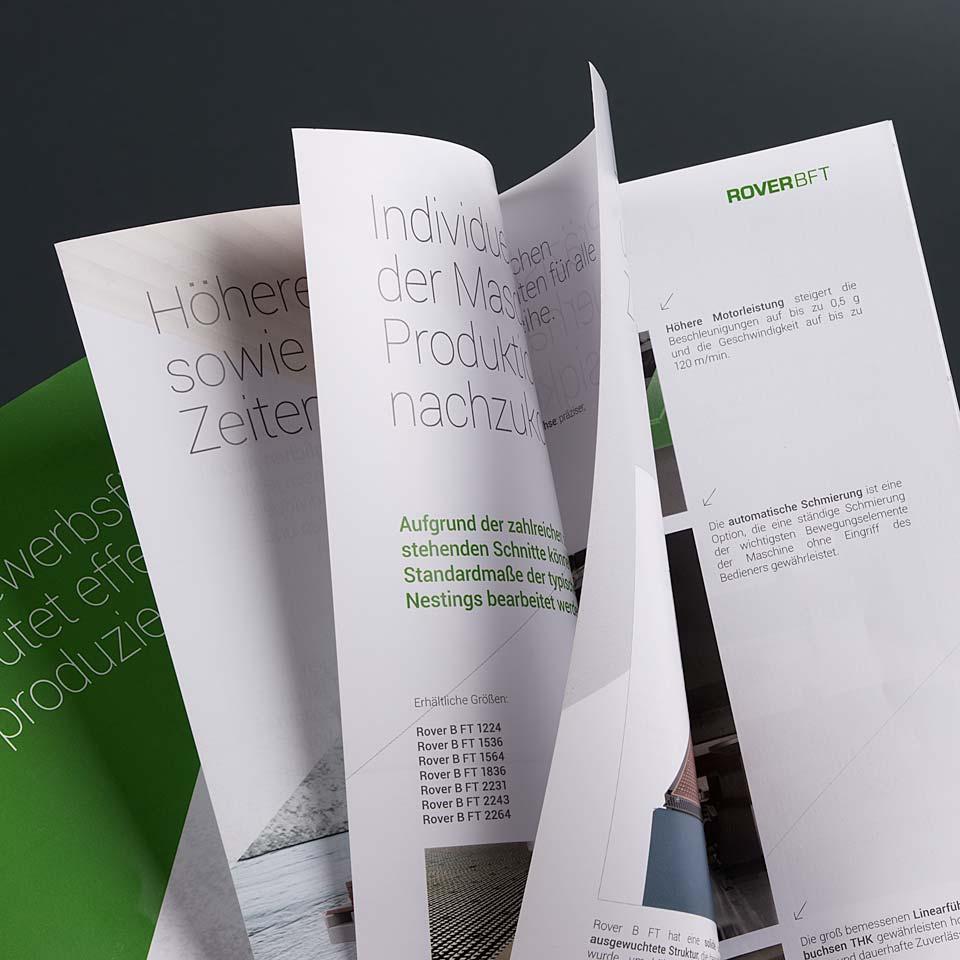 Cataloghi e brochure Biesse acanto comunicazione