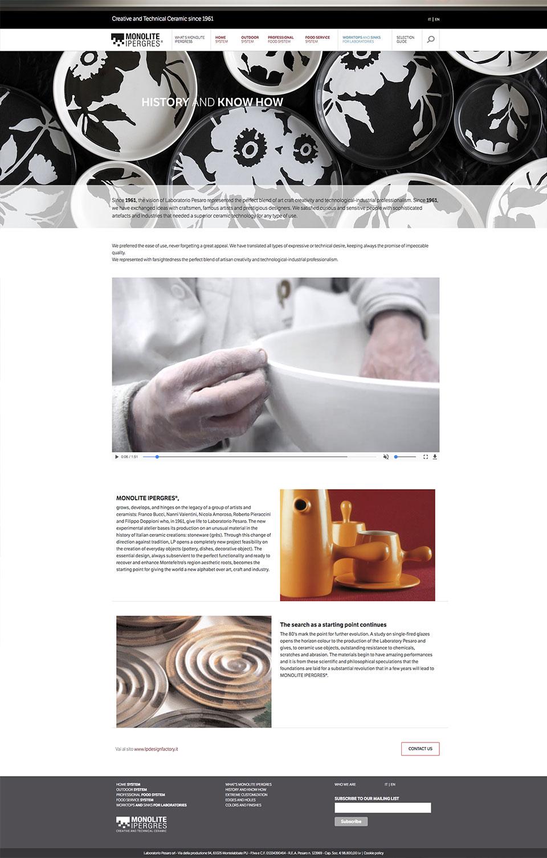 sito web responsive monolite ipergres acanto