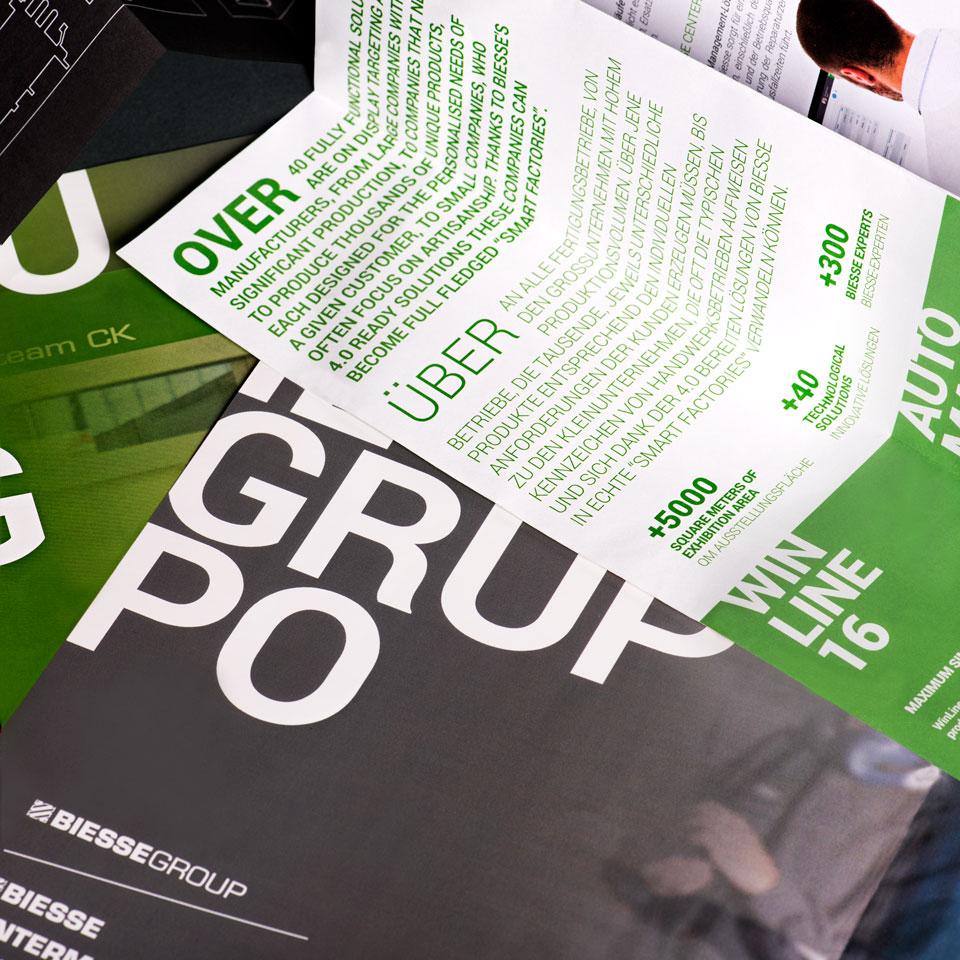 brand identity biesse group acanto
