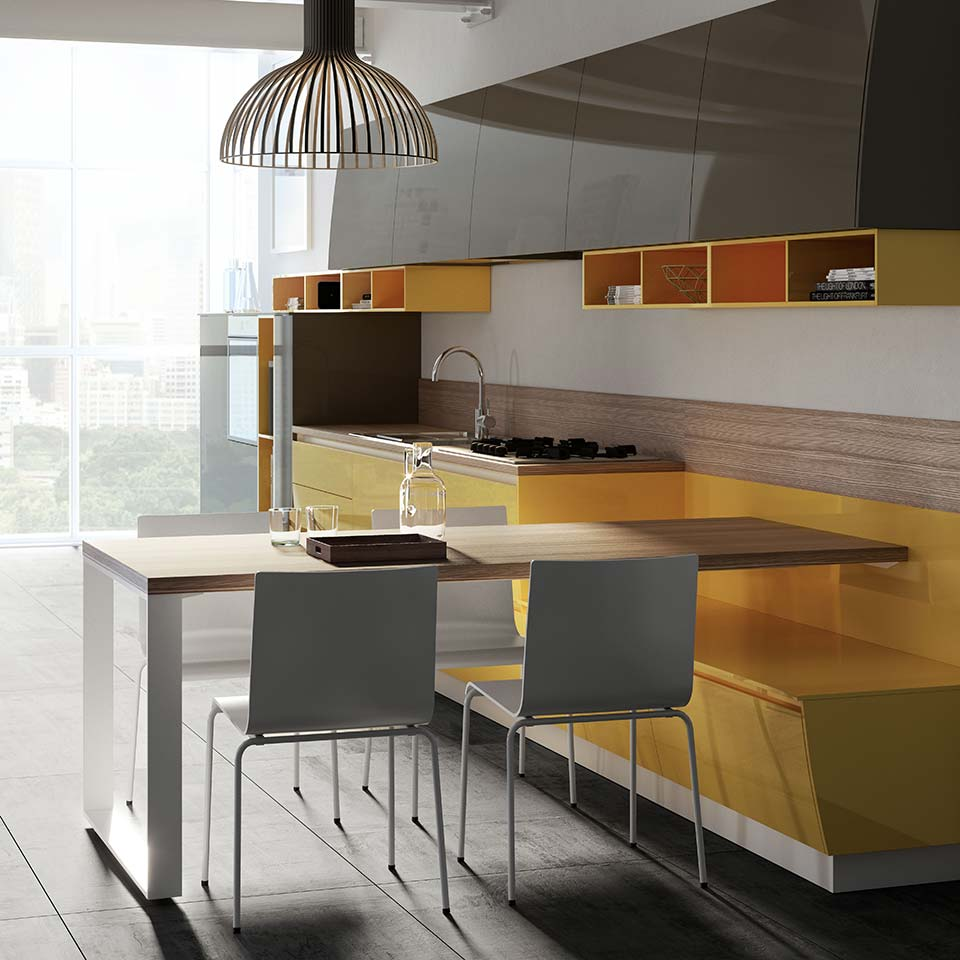 kitchen photorealistic rendering creative agency