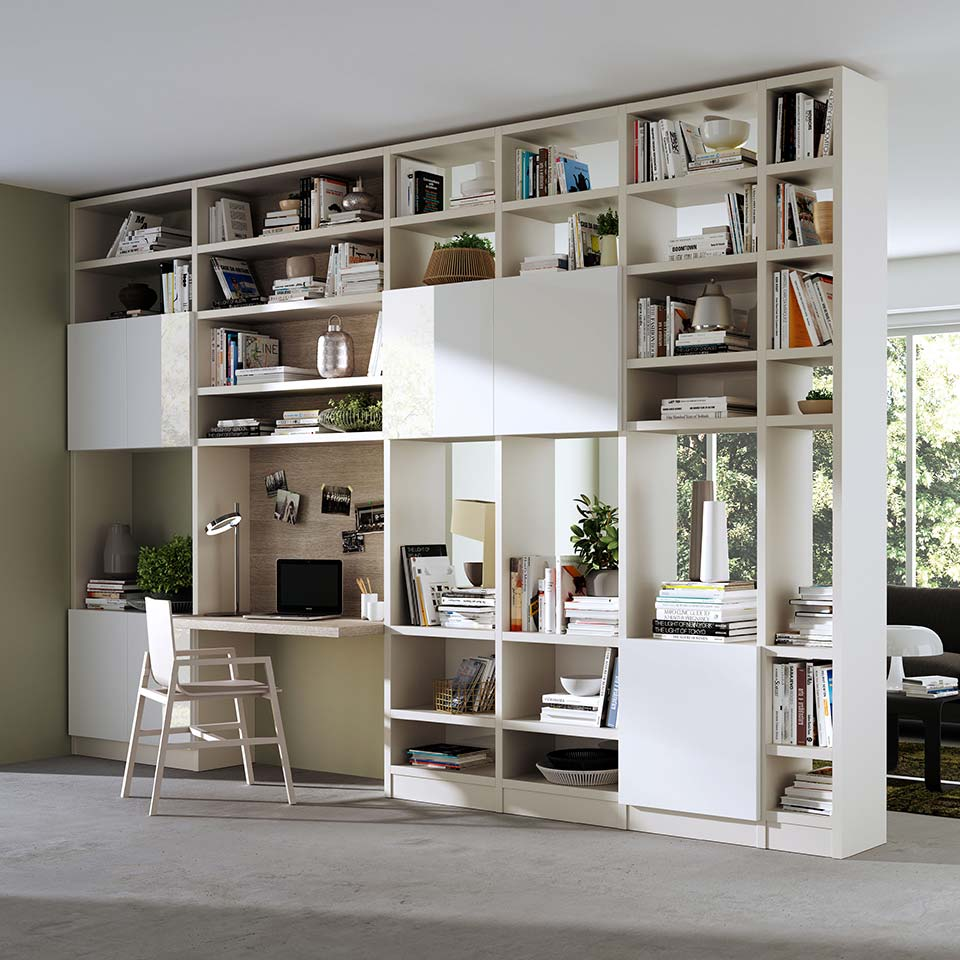 communication agency living furnishing rendering
