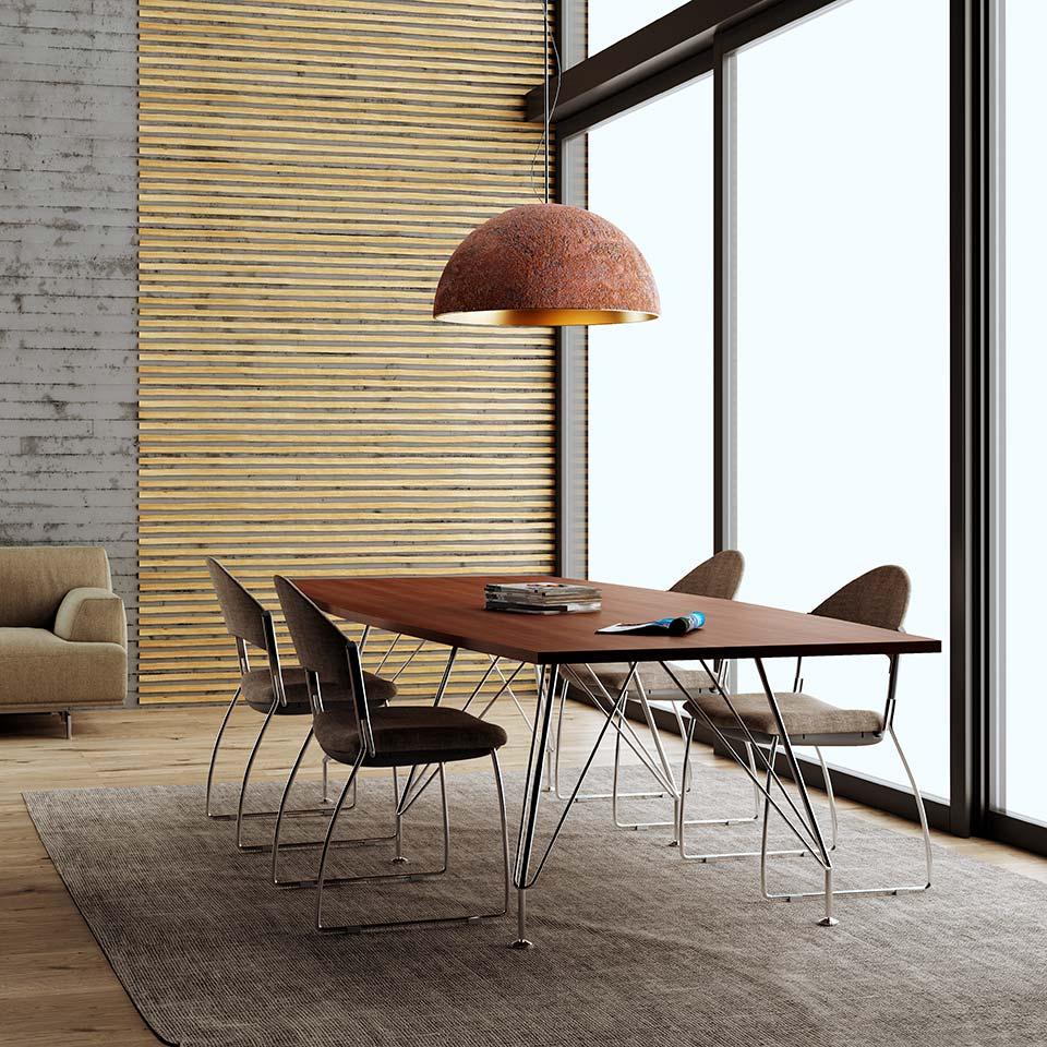 office furnishing rendering
