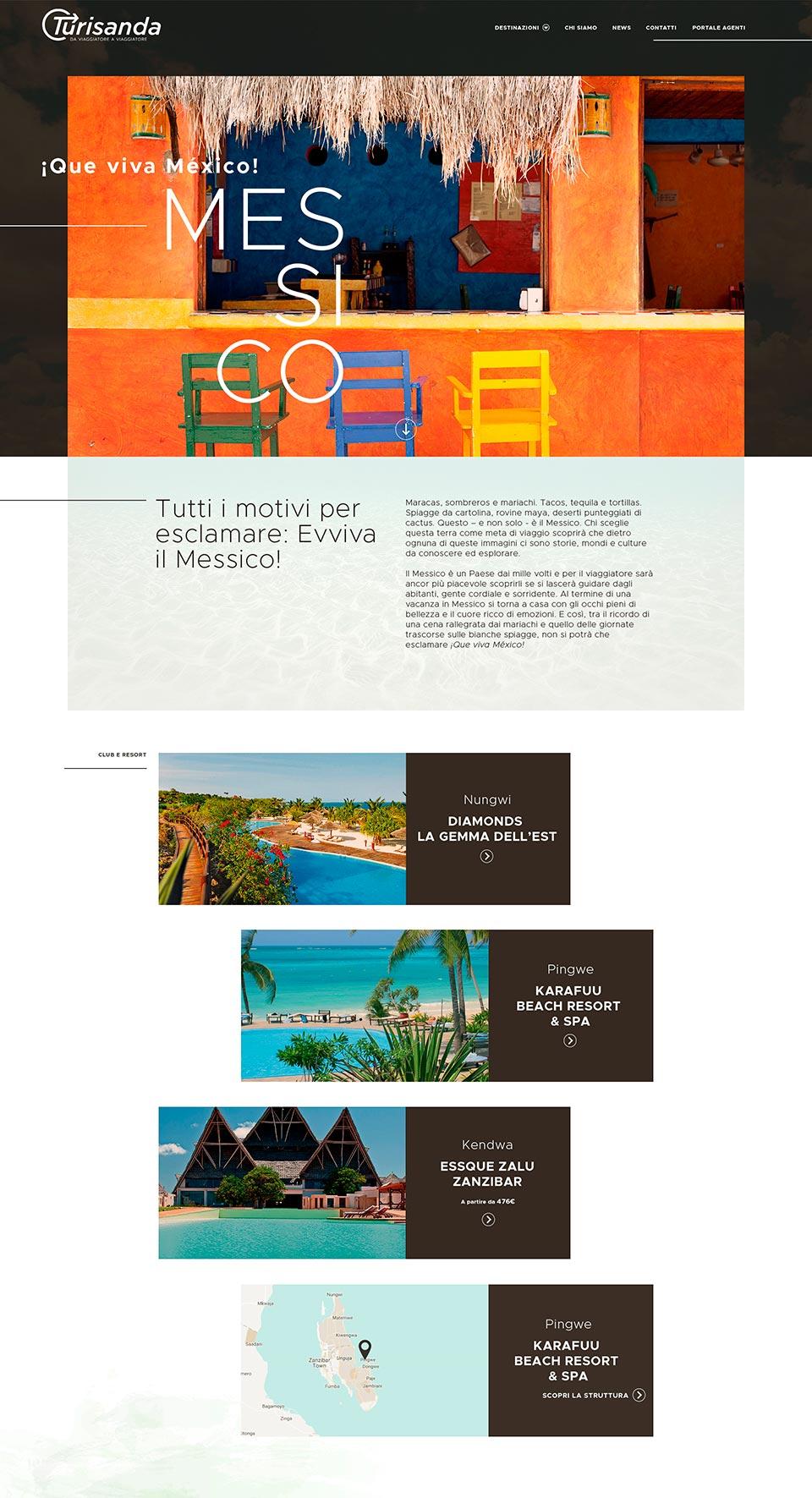 responsive website turisanda acanto